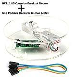 Digitaler Wägezellen-Gewichtssensor HX711 AD Wandler Breakout Modul Tragbare elektronische...