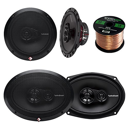 Why Should You Buy Car Speaker Package of 2x Rockford Fosgate R165X3 Prime 6.5 Inch 180 Watt 3-Way ...