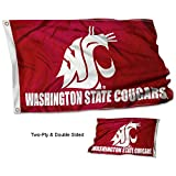College Flags & Banners Co. Washington State Cougars Double Sided Flag