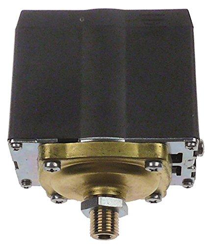 SIRAI P303 Pressostat für Vibiemme Domobar-Super-Manuale, Domobar-Super 0,5-1,4bar einstellbar 3-polig 1/4\' 20A
