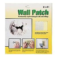 壁修理パッチ、天井を修理するための壁を修理するための安定したしっかりした壁の穴パッチ(6 * 6インチ。)