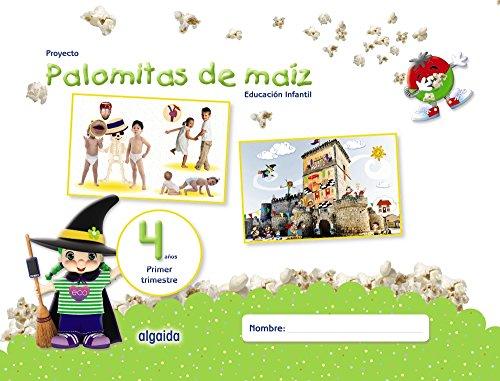 Proyecto Palomitas de Maíz. Educación Infantil. 4 Años. Primer Trimestre, Incluye DVD 🔥