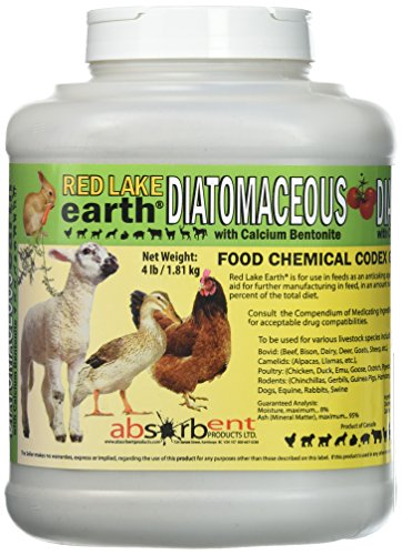 Absorbent Products Inc. Red Lake Diatomaceous Earth with...