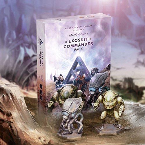 Mindclash Games MCG0004 Anachrony Exosuit Commander Pack Erweiterung, Mehrfarbig