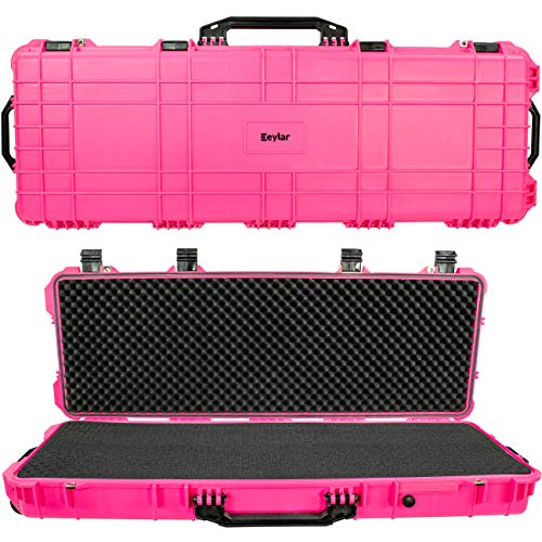 Eylar 38' Inch Protective Roller Tactical Rifle Hard Case...