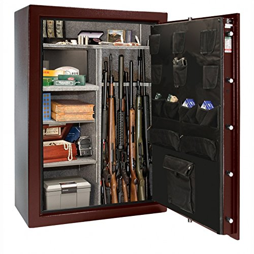 LibertyGun Safe: Centurion Series 24 Gun Safe Matte Black Finish - Electronic Lock