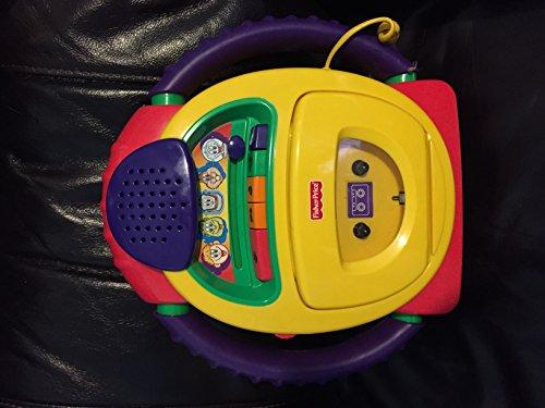 Mattel - Fisher Price B0334-0 - Kassettenrecorder mit Stimmenverzerrfunktion
