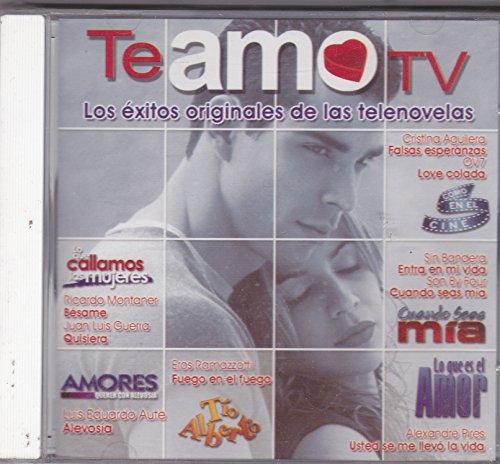 Te Amo Lo Exitos Originales De La Telenovelas : Varios Artistas