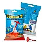 sgonfiotto Scorpion Trio–para sgonfiare facilmente Colchonetas, canottini, rosquillas, inflables para niños, animales hinchables, inflables de playa y piscina de género.