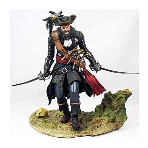 Luck7DZ Assassins Creed IV: Black Flag Blackbeard Action-Figur Exquisite Sammlerfigur, Multicolor Landschaft Dekoration Ornamente