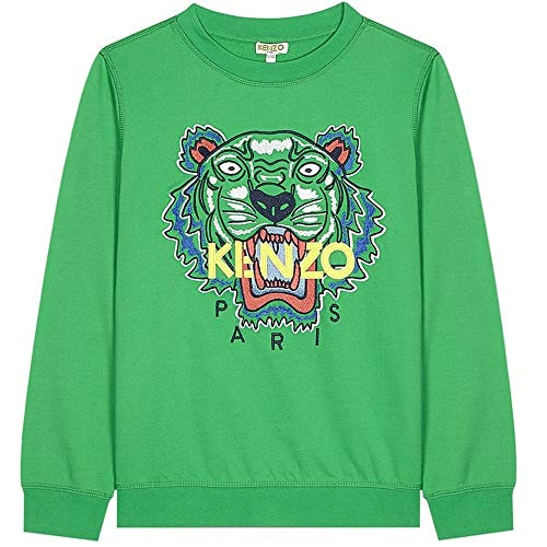 Kenzo Tiger Sudadera Verde