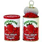PESCAVIVA Angelmais Erdbeere (Hellrot) für Karpfen, Schleie und Brasse