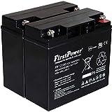 FirstPower Blei-Gel Akku für USV APC Smart-UPS 1500 12V 18Ah VDs, 12V, Lead-Acid