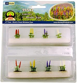 JTT Scenery Products Flowering Plants Lupines O Scale Hobby Train Sceneries