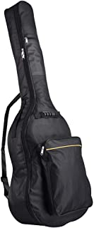 """Yescom 41"""" Waterproof Guitar Case Soft Padded Acoustic Guitar Gig Bag Double Straps Backpack"""