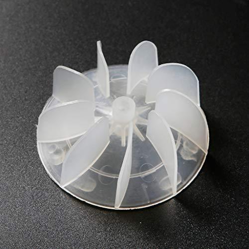 V4vmbbciee Motor de Alta Potencia Aspa del Ventilador Secador de Pelo Accesorios para conductos de Aire para peluquería Transparente