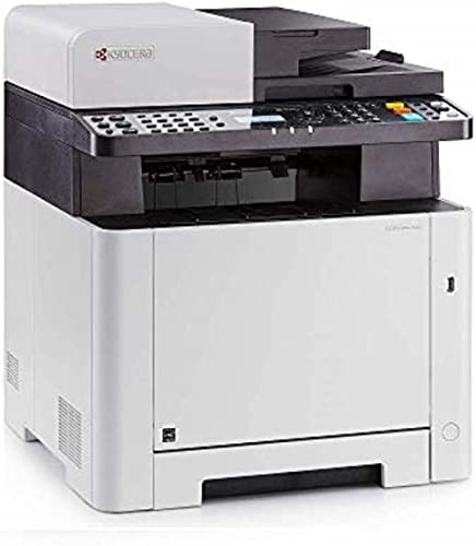 Kyocera 1102R92US0 Model ECOSYS M5521CDW Multifunctional Printer; Up to 21 PPM, 1200 Dpi Printing Quality, Mobile Pri...