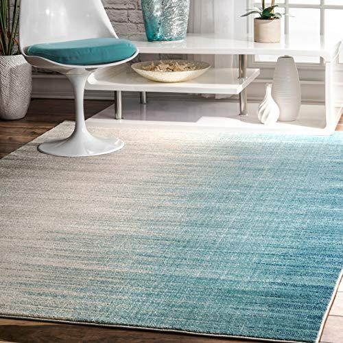 nuLOOM Lexie Ombre Area Rug, 5' x 7' 5', Blue
