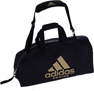 caf4d9c62 Bolsa Adidas Boxing com Alça de Ombro em Poliéster Preto/Dourado 50 Litros