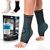 Ankle support compression socks