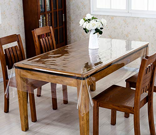 透明ビニールシート カット可能 テーブルクロス137*185cm PVC カーテン ビニール コロナ 飛沫予防 花粉症対策 0.5mm.