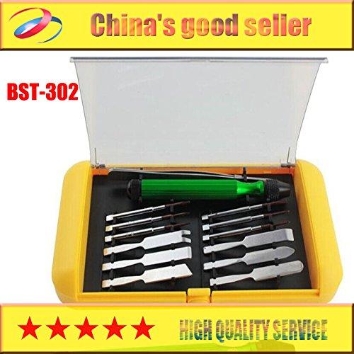 BEST 302 14 in 1 Mobiele telefoon machine toolsPrecise Schroevendraaier Tool Kit Tool portfolio voor iphone 4/5/5s/6/puls