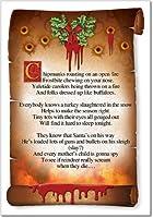 Chipmunks RoastingクリスマスJokeカード 1 Christmas Card & Envelope (SKU:1485)