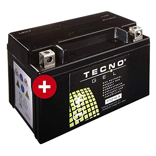 YTZ10S TECNO GEL-Batterie für CBF 1000 A ABS Baujahr 2006-2012