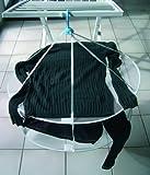 MSV TENDEDERO para Jerseys (2 Niveles), Tergal, Blanco, 65x65x2 cm