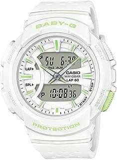 Baby G Women's Watch White 46.4mm Resin BGA240-7A2