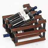 Affichage Accueil vin Bouteilles Structure Choix Racks Gratuit Grande Image Showsfurniture Coordinate Top Counter Idéal Loin La Statue (Color : A)