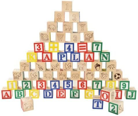 High 2021 autumn and winter new quality Kaplan Classic ABC Blocks