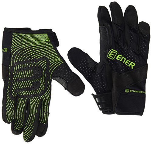 ENERGETICS Crossfit FTG 710 Handschuhe, Schwarz/Lime, One Size