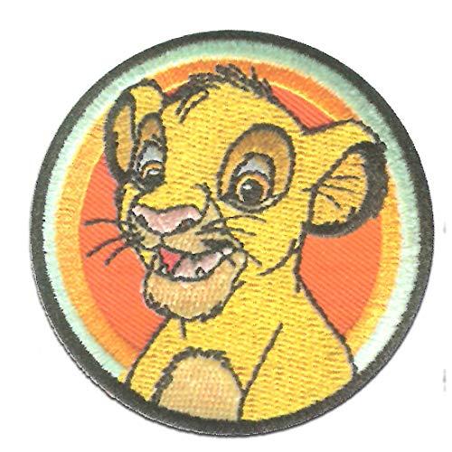 Disney © El rey león Simba Button - Parches termoadhesivos