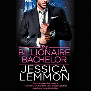 The Billionaire Bachelor audiobook cover art