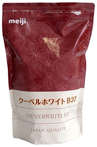 【冷蔵】 meiji (明治) 業務用 クーベルホワイト B37 チョコレート 1kg カカオ分37% 製菓用 チョコ