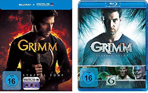 Grimm - Staffel 5+6 im Set - Deutsche Originalware [8 Blu-rays]