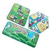 Toygogo 3pcs Hexagon Mat Teppich, Schaumstoff Teppich Für Kinder Spielen, Spielmatte Für Zelt...