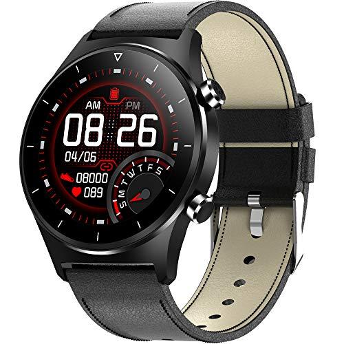 Smartwatch Herren Sport Fitnessuhr Touchscreen Pulsuhr Fitness Tracker mit Schlafanalyse Damen Laufuhr Schrittzähler Wasserdicht