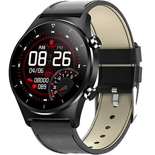 Smart Watch for Men Women Hr Fitness Trackers Activity Sleep Tracker Bluetooth Heart Rate Blood Pressure Monitor Pedometer Waterproof Sports Outdoor Smartwatch ladies Fashion Smart Watches Android IOS