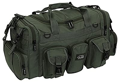 "NPUSA Mens Large 22"" Duffel Duffle Military OD Green Molle Tactical Gear Shoulder Strap Travel Bag"