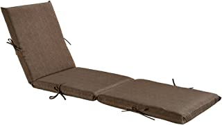 BOSSIMA Indoor Outdoor Lounge Chair Cushions Chaise Bench Seasonal Replacement Cushions Patio Furniture Cushions Coffee