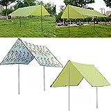 Generic Portable Folding Havelock Camping Sunshade Awning Tent Hammock Hanging Canopy Outdoor