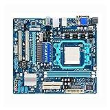 lilili Placa Base Placa Base para computadora Compatible Fit For Gigabyte GA-MA78LM-S2 Placa Base Original de Escritorio usada MA78LM-S2 760G Socket AM2 DDR2 Micro-ATX
