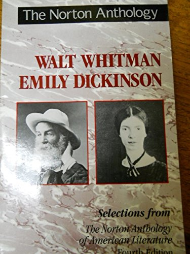 The Norton Anthology of American Literature: Whitman and Dickenson