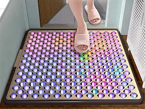 Desinfectante Pediluvio alfombra estera desinfección suelo Desinfectante Dip Boot Mat con energía limpia y alta capacidad de absorción Uso un esteras de polvo estériles para reducir la contaminación