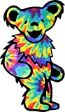 MR3Graphics Magnet Tie Dye Dancing Bear Magnetic Car Sticker Decal Bumper Magnet Vinyl 5'