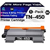 Go4max Compatible (High Yield, Black) TN450 TN420 Toner Cartridge TN-450 TN-420 for Brother DCP-7060D DCP-7065DN HL-2270DW HL-2275DW HL-2240D MFC-7365DN Printer