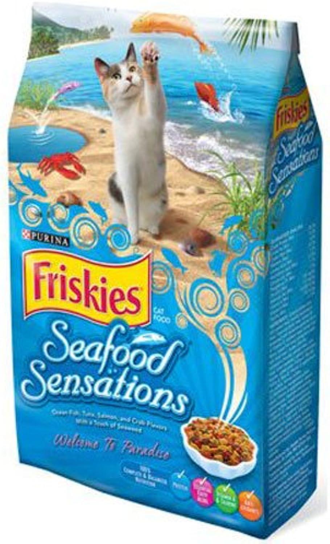 Friskies Seafood Sensations Dry Cat Food 16lb
