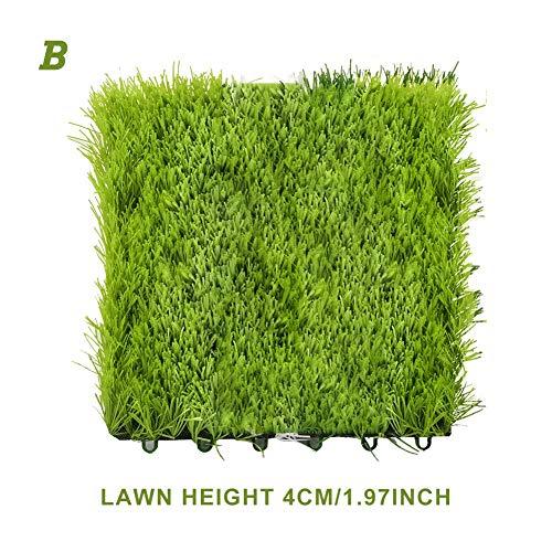 Tapis de gazon artificiel réaliste professionnel, tapis de paille synthétique réaliste, pelouse pour animaux de compagnie intérieure et extérieure, tapis de gazon étanche, tapis de paille naturel